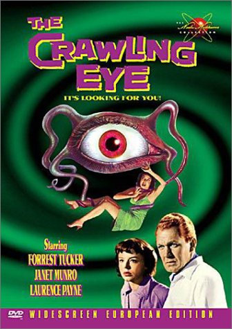 The Crawling Eye 1958 (DVD Black & White)  Forest Tucker/Janet Munro/Lawrence Pa