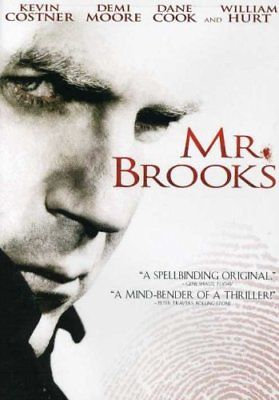 NEW Mr. Brooks (DVD, 2007) Kevin Costner, Demi Moore