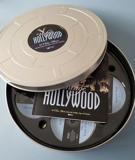 READERS DIGEST Vintage HOLLYWOOD 5O CLASSIC-50 Classic Movies-From the G