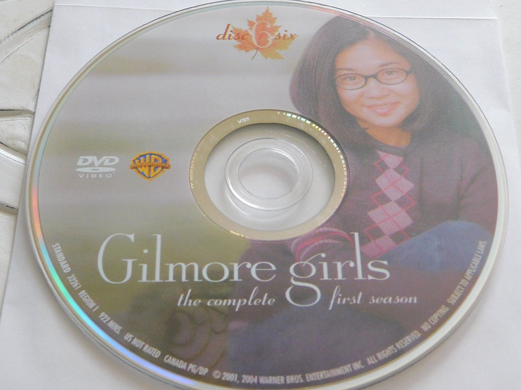 USED- Gilmore Girls First Season Dvd Replacement disc 6 ONLY