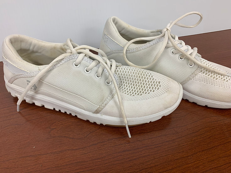 copy of Etnies Scout Men's YB White Mesh Lace Up Skate Shoes size 6.5