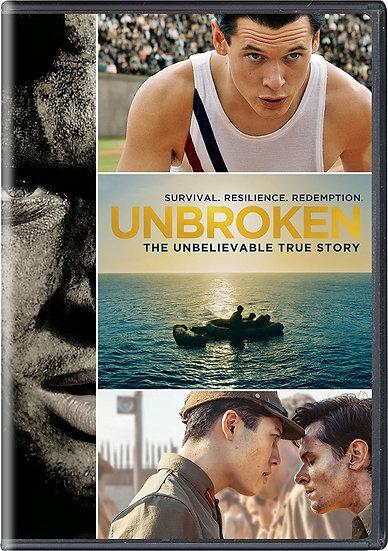 Unbroken The Unbelievable True Story (DVD 2015) Jack Oconnell  Bonus Feature: Th