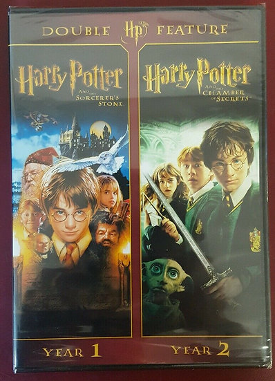 Harry Potter Double Feature: Year 1 & Year 2DVD