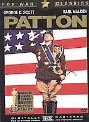 USED-Patton (DVD, 2001)  George C. Scott/Carl Malden