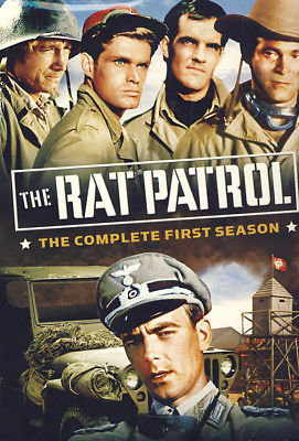 The Rat Patrol - The Complete First Season (DVD, 2006, 4-Disc Set, Full Screen)