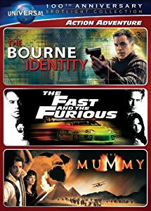 The Bourne Identity/The Fast and the Furious/The Mummy- Triple Feat