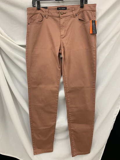 NWT JOE FRESH Women's 31 (12) Ultra Slim Low Rise Denim Dark Blush Jeans