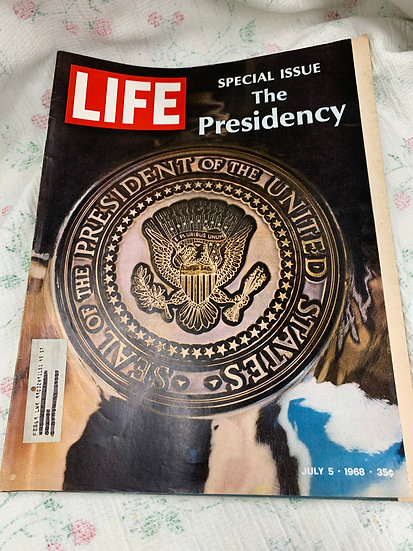 Life Magazine July 5 1968 - Special Issue - The Presidency