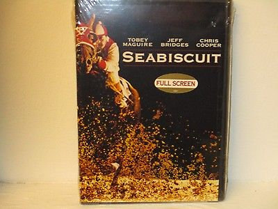 Seabiscuit (DVD Fullscreen) Tobey Maguire, Jeff Bridges, Chris Cooper