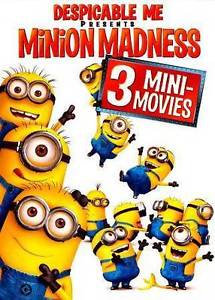 NEW Despicable Me Presents Minion Madness (DVD, 2011)