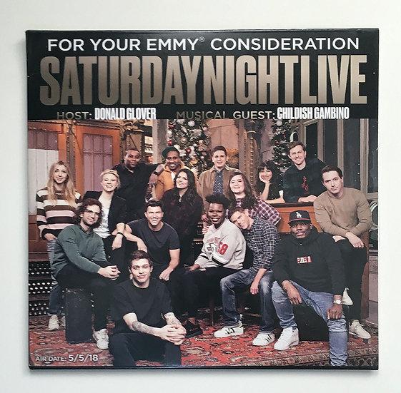 2018 FYC RARE Saturday Night Live FYC DONALD GLOVER & CHILDISH G