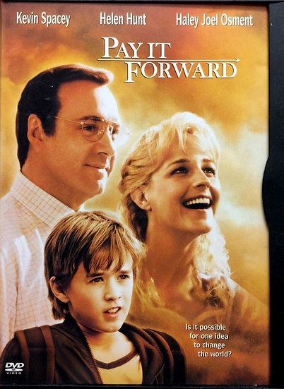 USED-Pay It Forward (DVD)  Kevin Spacey Helen Hunt