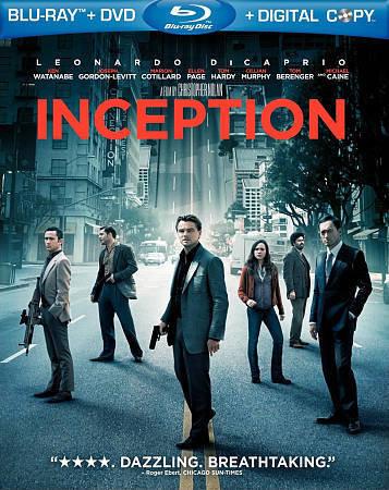 USED-INCEPTION / BLU RAY+DVD+DIGITAL COPY 2010