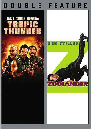 ropic Thunder/Zoolander (DVD, 2008)
