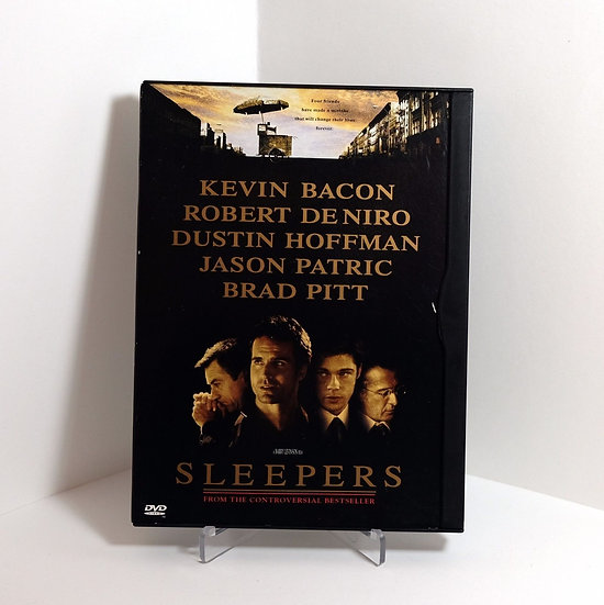 Sleepers  (DVD 1996 Widescreen) in snapcase Kevin Bacon Brad Pitt