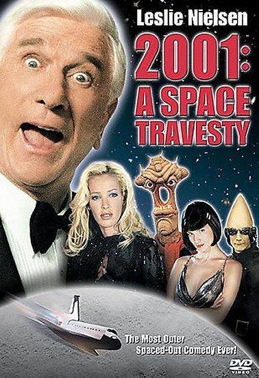 2001: A Space Travesty (DVD, 2002) Leslie Nielsen, Ophelie Winter, Peter Egan