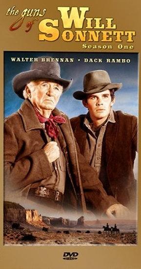 The Guns of Will Sonnett: Season 1 (DVD 2007-3 Discs)  Walter Brennan- Dack Ramb