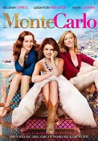 NEW Monte Carlo DVD Selena Gomez, Leighton Meester, Katie Cassidy