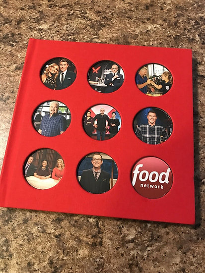 2 FYC 2018 and 2019 THE FOOD NETWORK Emmy DVD PRESSBOOK  Bobby Flay Ted Allen