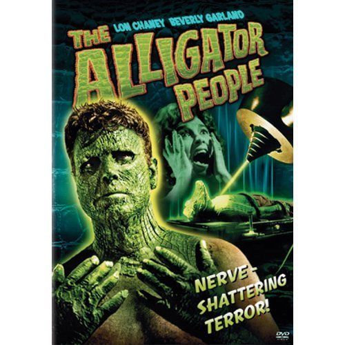 USED-ALLIGATOR PEOPLE (DVD, 2004) Widescreen Edition-Lon Chaney/B