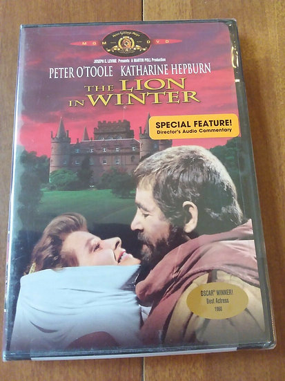 The Lion in Winter (DVD, 2001, Widescreen) Peter O'toole,Katharine Hepburn