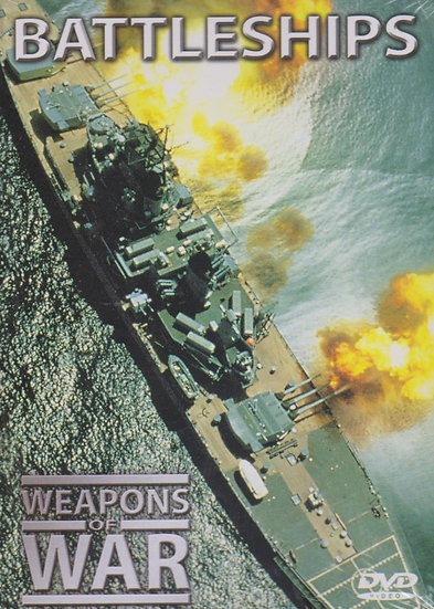 USED-Weapons of War BATTLESHIPS DVD and Booklet No. 7