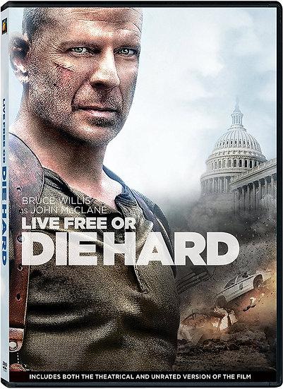 Live Free or Die Hard, (DVD 2013)  Bruce Willis