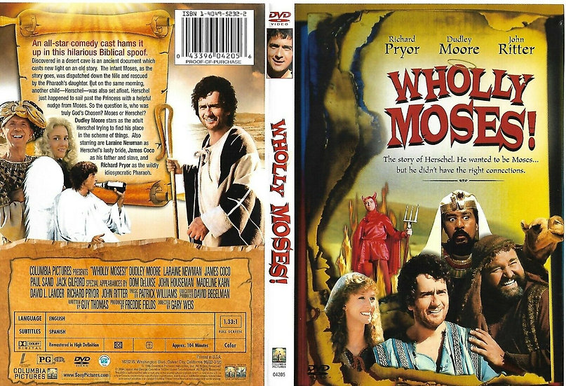 Wholly Moses (OOP RARE 2004 DVD) Dudley Moore, Laraine Newman
