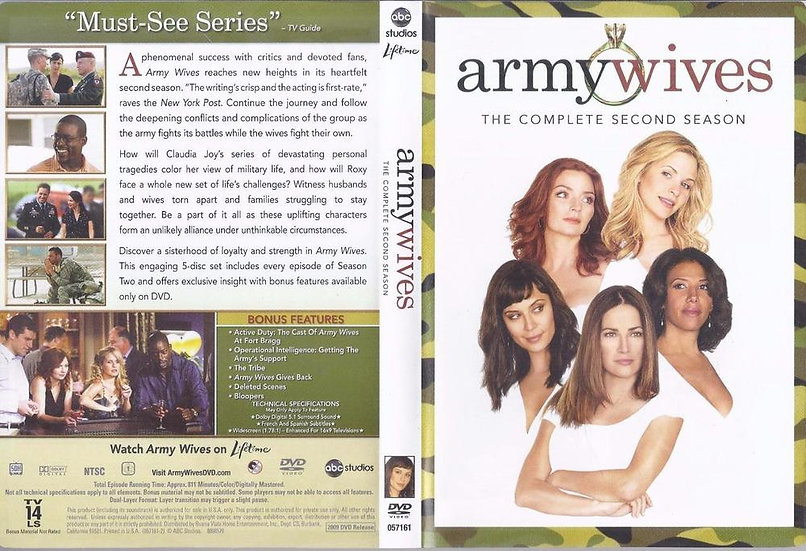 NEW Army Wives - The Complete Second Season (DVD 2009)