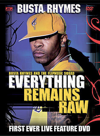 NEW Busta Rhymes - Everything Remains Raw: Live In Concert (DVD, 2004)