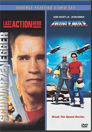 Last Action Hero / Iron Eagle Double Feature (DVD 2008, 2-Disc Set) OOP