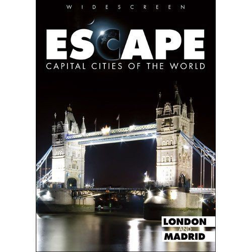 NEW Escape: Capital Cities of the World - London and Madrid (DVD, 2009)