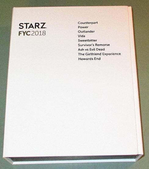 FYC 2018 STARZ DVD SET
