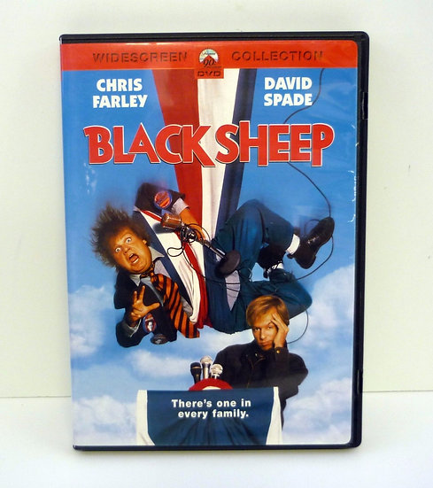Black Sheep (DVD, 2002 Region 1) Widescreen Collection Chris Farley, David Spade