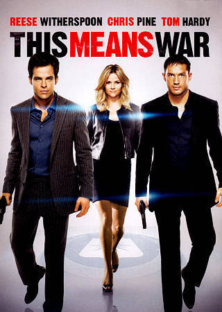 This Means War (DVD Widescreeen 2012) Tom Hardy Chris Pine Reese Witherspoon