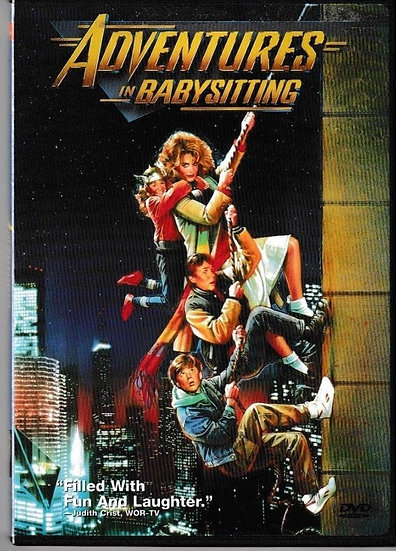 Adventures in Babysitting 1987(DVD) Elisabeth Shue