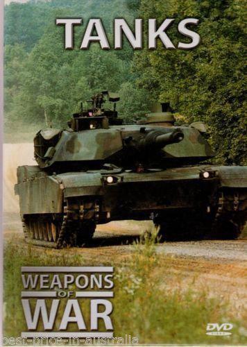 Weapons of War: Tanks DVD + BOOK Volume #6