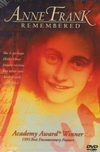 Anne Frank Remembered (DVD, 2004) Narrated by Glen Close