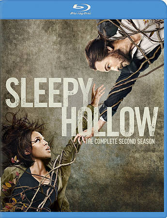 USED-Sleepy Hollow: The Complete Second Season (Blu-ray Disc, 2015, 4-Disc Set)