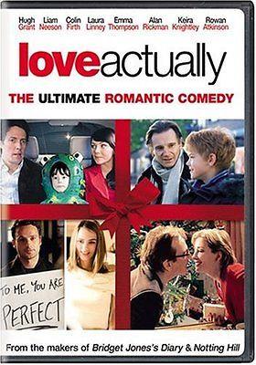 Love Actually (DVD, 2004) Hugh Grant/Liam Neeson/Colin Firth/Emma Thompson
