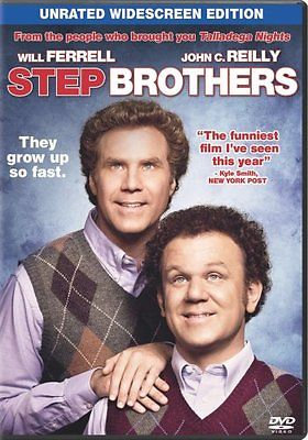 Step Brothers (DVD, 2008, Unrated Widescreen Edition)