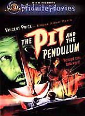 The Pit and the Pendulum-1961 (DVD 2001-color) Vincent Price & Barbara Steele RA