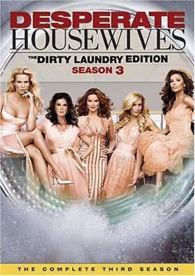USED-Desperate Housewives - Complete Third Season (DVD, 6-Disc Set) The Dirty La