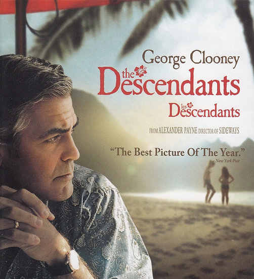 The Descendants (DVD, Widescreen 2011) Shailene Woodley, George Clooney