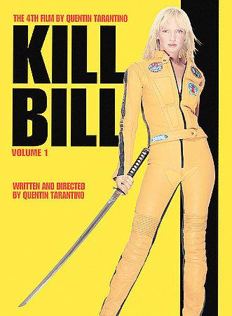 Kill Bill Volume 1 /The 4th Film By Quentin Tarantino /Uma Thurman, Lucy Liu and
