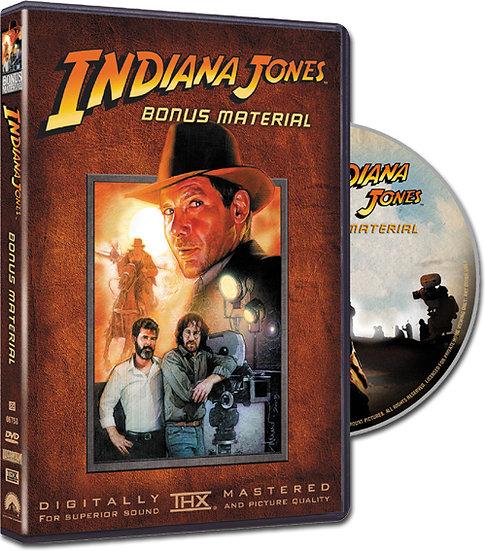 USED-Indiana Jones BONUS MATERIAL (DVD Region 1)