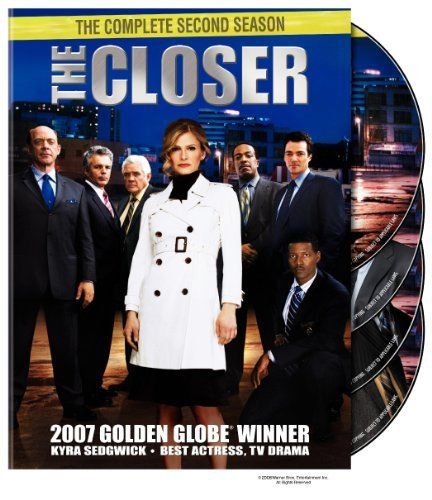 USED-The Closer the Complete Second Season (DVD 2006)