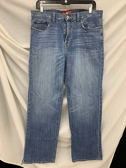Lucky Brand 361 Vintage Straight Leg Women's Jeans 33x32 Blue Denim