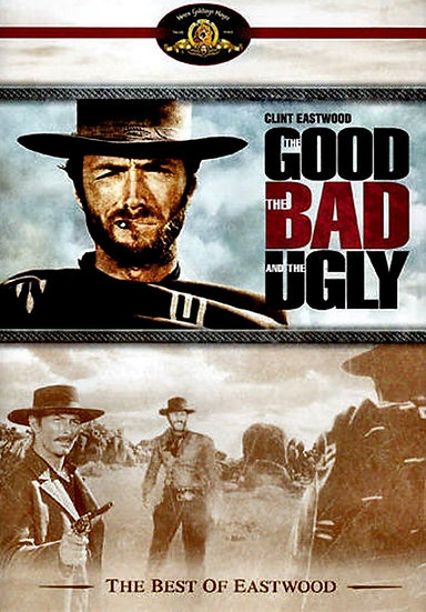 USED-The Good, the Bad and the Ugly-1966  ( DVD, 1998, Widescreen) Clint