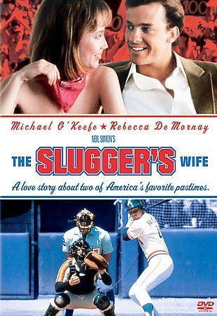 The Slugger's Wife (DVD 2004 Fullscreen sealed Michael O'Keefe Rebecca d